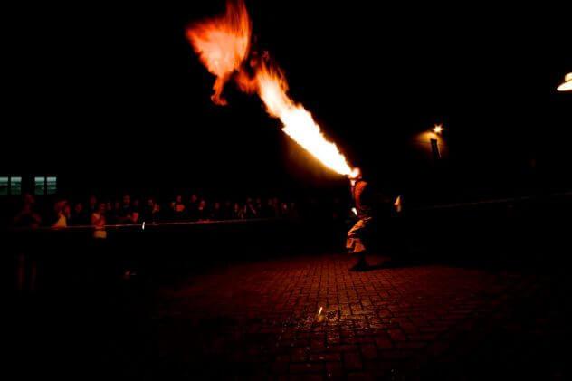 Feuerspucken Wernigerode
