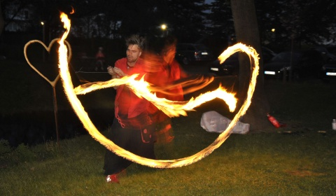 Feuershow Levistick