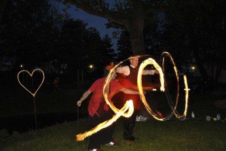 Feuerpoi Hochzeitsfeuershow