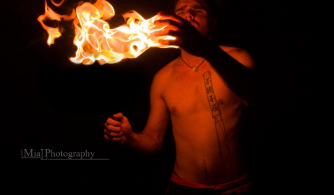 Feuershow Körperfeuer