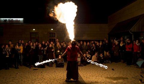 Feuershow Halle