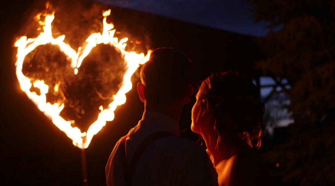 Hochzeitsfeuershows