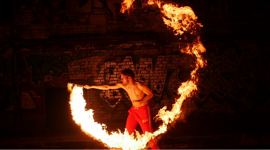 Atemberaubende Feuereffekte